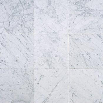 Carrara Marble HONED 12×12