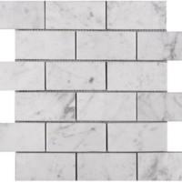 Carrara Marble 2x4 Mosaics